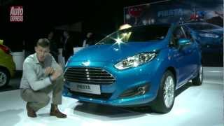 Ford Fiesta at the 2012 Paris Motor Show - Auto Express