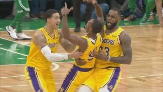 Rondo Game Winner vs Celtics! LeBron Trip Dub! 2018-19 NBA Season