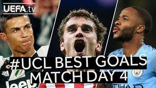 Download Video RONALDO, GRIEZMANN, STERLING: #UCL BEST GOALS, Match Day 4 MP3 3GP MP4