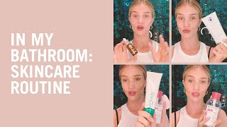 Download Video Rosie Huntington-Whiteley shares her skin care routine MP3 3GP MP4