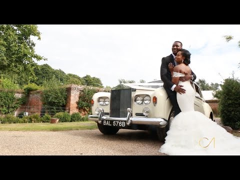 Morayo + Edwin : Wedding Film (Painshill Park Conservatory)