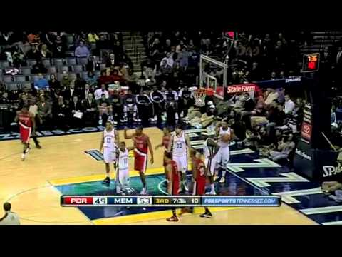 Portland Trail Blazers 73 – Memphis Grizzlies 86