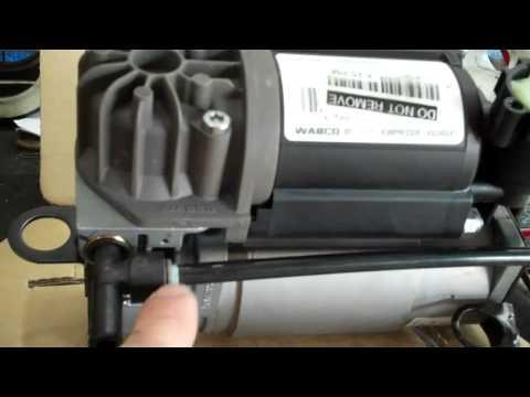 2001 Mercedes S430 Suspension Airmatic Pump Leak Problem