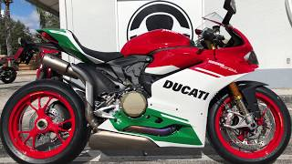 7. 2018 Ducati 1299 Panigale R Final Edition #518 For Sale at Euro Cycles of Tampa Bay