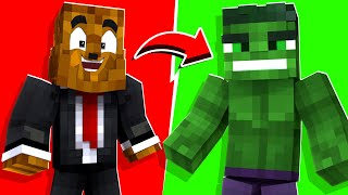 Minecraft - Playing As The HULK In Crazycraft | JeromeASF