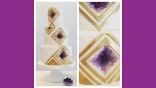 Geometric Geode Cake
