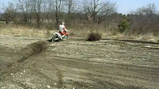 9. Honda Cr 125 r 2006 PC Works + R304 and Vforce 3 Reed riding