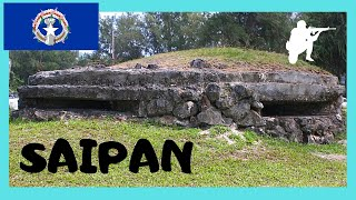 Saipan Northern Mariana  city images : A WW2 Japanese pillbox in SAIPAN, Northern Mariana Islands (Pacific Ocean)