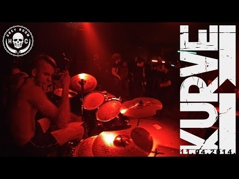 Kurve -  Grey Room  - 11 04 2014 (видео)