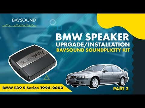 Pt 2/2: BMW E39 5 Series '96-2003 – iPod / iPhone / Droid – Soundplicity Kit Installation