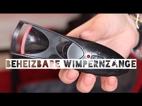 Beheizbare Wimpernzange - Live-Test + Fazit