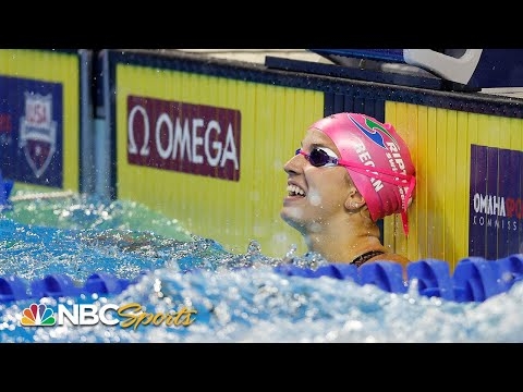 Regan Smith books first Olympic ticket with 100 back win at trials | NBC Sports