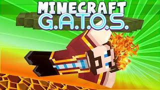 Minecraft - GATOS #1 - Lava Swim [Puzzle Map]