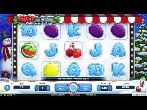 Makina Oyunları - Fruit Shop Christmas Edition Oyna