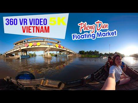 360 VR VIDEO 5K ▶ Chợ nổi Phong Điền | DU LỊCH CẦN THƠ - Thời lượng: 2 phút, 44 giây.