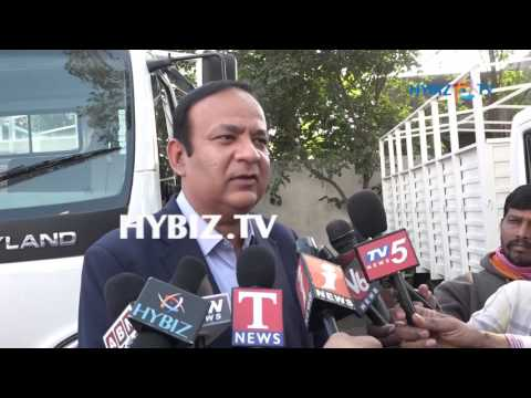 Anuj Kathuria-Ashok Leyland GURU & Partner Launch