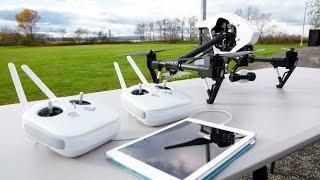 DJI Inspire 1 Real World Preview with 4k DRONE Footage