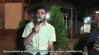 Gjykimi i personit që bën Zina (me një shtet ku nuk ka sherijat) - Hoxhë Bedri Lika