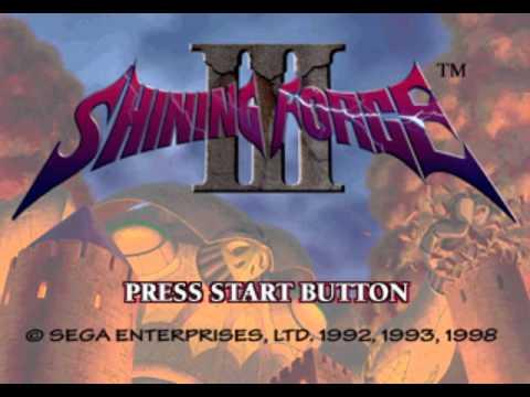Shining Force III Scenario 1 OST - Flowing River, Light Of The Moon