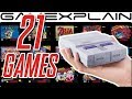 Super Nes Classic: 1 Minute Of All 21 Games gameplay