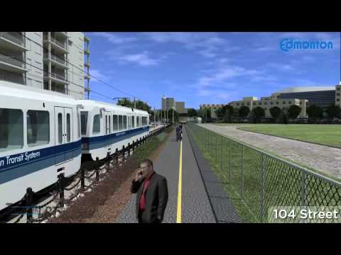 LRT - The City of Edmonton is building a 3.3 km LRT extension northwest from Churchill Station in downtown Edmonton to new LRT stations at Grant MacEwan University...