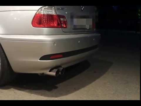 BMW E46 318CI FSW Auspuffanlage