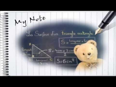 comment trouver la hauteur d'un triangle rectangle