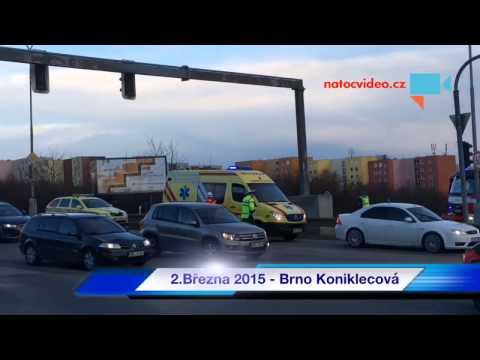 dopravní nehoda Brno koniklecová