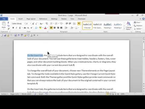 How to Italicize on Word : MS Word Skills