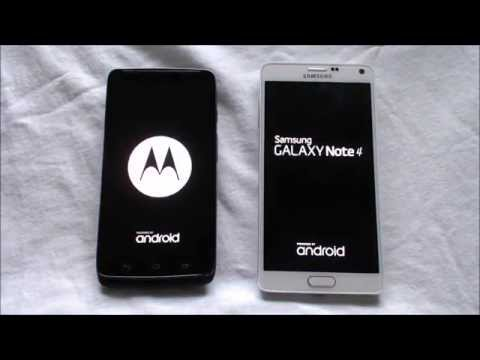 Video DROID Turbo vs Galaxy Note 4 boot speed download in MP3, 3GP, MP4, WEBM, AVI, FLV January 2017