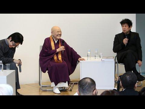 横尾忠則さん、寂聴さんらと軽妙トーク
