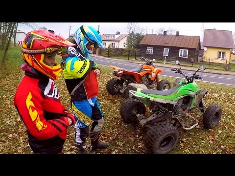 ATV madness ride / Quad bikes offroad riding / highway to hell !!
