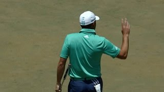 Sergio Garcia perfectly reads his big breaker for birdie at THE PLAYERS by PGA TOUR