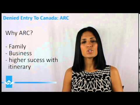 Denied Entry To Canada ARC Video
