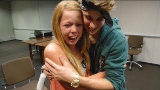 Justin Bieber Surprises Lucky Fans! | Just Dance 4 full download video download mp3 download music download