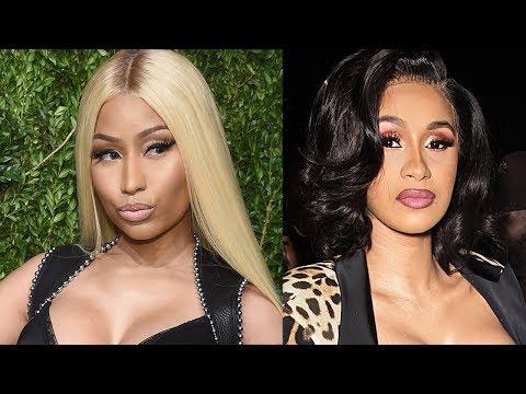 "Cardi B Nicki Minaj Feud Reignited Over ""Thotiana' Remix & Ariana Grande Reacts To Pete's New Fling"