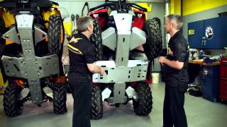 5. Can-Am Off-Road ATV - Skid Plates