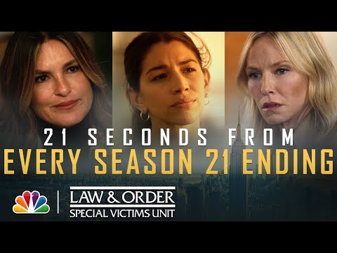 See How Every Season 21 Episode Ended - Law & Order: SVU