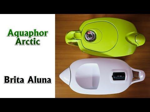De ce folosim acasa cani filtrante de apa. Comparatie intre Aquaphor Arctic si Brita Aluna