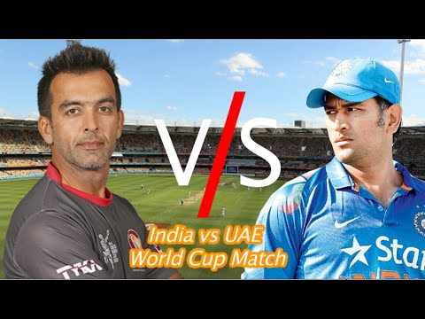 World Cup 2015 India vs UAE cricket match