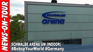 Gummersbach Germany  City new picture : FlyDrone! SCHWALBE arena #BebopYourWorld #Gummersbach #Germany Parrot Bebop Drone (1080p)