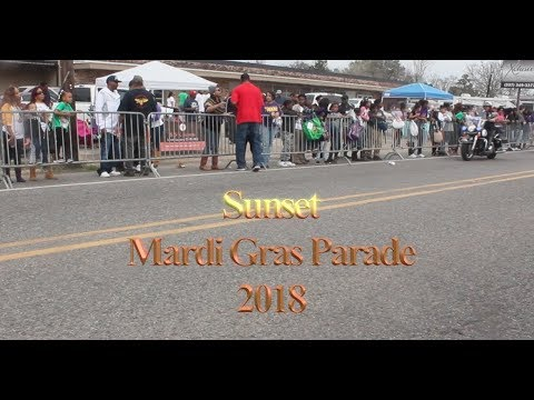 Sunset Mardi Gras Parade  2018