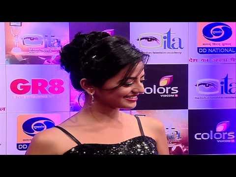 Heli Shah aka Swara of Swaragini at ITA awards