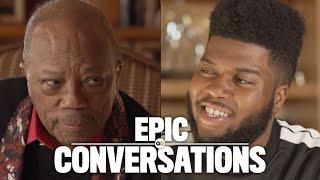Video Quincy Jones and Khalid's Epic Conversation | GQ MP3, 3GP, MP4, WEBM, AVI, FLV Juli 2018