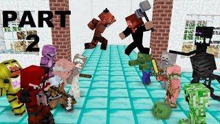 Video Monster School : GRANNY , GRANDPA & FNAF (The Revenge) - Minecraft Animation MP3, 3GP, MP4, WEBM, AVI, FLV Juli 2018