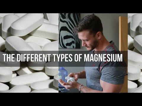 Different Forms of Magnesium | Anxiety, Cramps, and Digestion: Thomas DeLauer (видео)