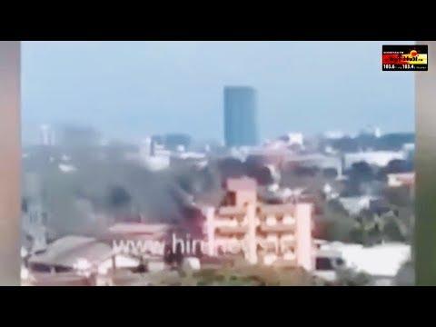 தெமட்டகொட கட்டடத்தொகுதியில் தீப்பரவல் - Dematagoda Fire Accident |  Sooriyan News | Sooriyan Fm