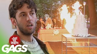 Wedding Disasters Pranks - Best of Just For Laughs Gags, Just for laughs, Just for laughs gags, Just for laughs 2015