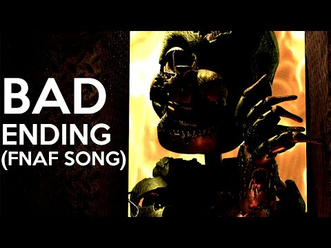 """FNAF Song: """"Bad Ending"""" (DHeusta Remix) 