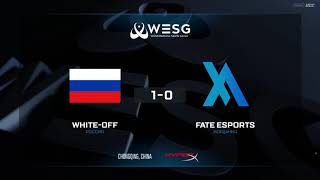 (RU) WESG Grand Final | White-Off vs Fate Esports | map 2 | bo2 | by @Mr_Zais